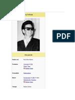 Roy Orbison Con Mala Suerta