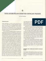 6. Tata Hubungan Dokter Pasien