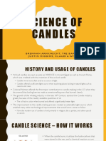 chemistry candle presentation