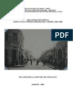 Uma Cidade Em Disputa - Conflitos e Tensões Urbanas Em Itabuna -1930-1948 - Philipe_murillo_santana_de_carvalho