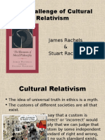 Rachels Ch. 2 - The Challenge of Cultural Relativism