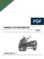 Gilera Fuoco 500 WorkShop Manual (French)