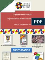 Organizacion de Documentos 1