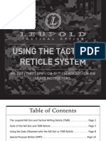 Leupold Tactical Milling Reticle Manual