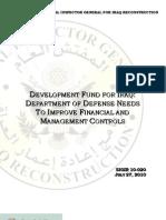 The Iraq Missing Billions Report