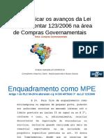 Como aplicar os avanços da Lei Complementar 123.pdf