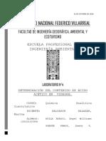 LABORATORIO N° 3 Determinación de Ácido Acético en Vinagre