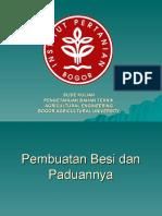 PBT 206 Proses Pembuatan Besi Dan Baja