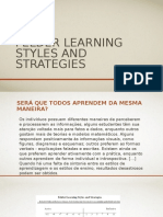 Felder Learning Styles and Strategies