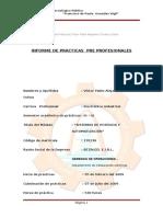 Informe de Practicas Modulo III-IV