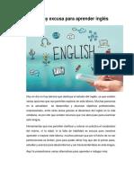 No Hay Excusa Para Aprender Ingles