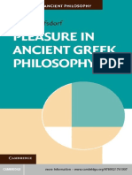 Wolfsdorf Pleasure in Ancient Greek Philosophy
