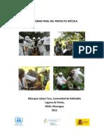 Informe Tecnico Final Del Proyecto Apicola