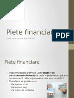 Curs Piete Financiare 2016