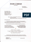 Comment to FTC on Probiotics consent decree