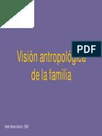 Vision Antropologica de La Familia