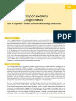 Curriculum Responsiveness in Tourism Programmes