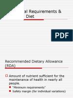 4. Reqmt-Balanced Diet