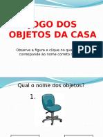 Jogo Dos Objetos de Casa (para PLE)