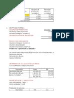 Costos Por Proceso Un Producto Tres Procesos 1