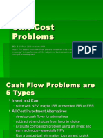 Lecture 21 Unit Costs Problems