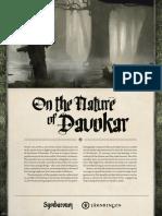 Symbaroum on the Nature of Davokar