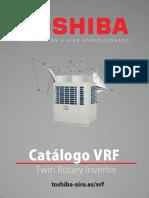 Catalogo VRF Toshiba