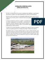 Sistemas de Comunicación Aerea de Bolivia