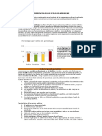 Resultados de Los Estilos de Aprendizaje i Sem.2017