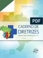 Caderno de Diretrizes e Metas 2013-2015