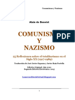 Benoist Comunismo y Nazismo
