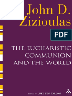 235310522 John D Zizioulas Luke Ben Tallon Eucharistic Communion and the World 2011