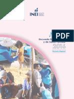 INEI Encuesta Demográfica 2016