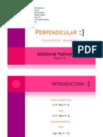 Microsoft Power Point - Perpendicular (4theta)
