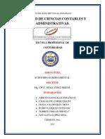 Actividad de Trabajo Colaborativo Auditoria Gubernamental.