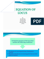 Microsoft Power Point - The Equation of Locus