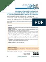 Transcultural translation-adaptation to Spanish of the Infants' Dermatitis.pdf