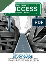 National Council for Interior Design Qualification (NCIDQ) Exam Study Guide