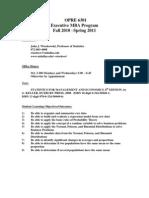 UT Dallas Syllabus for opre6301.x12.10f taught by John Wiorkowski (wiorkow)