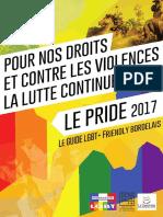 Le Pride 2017