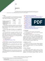 D2972-08 Standard Test Methods for Arsenic in Water