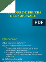 Metodos Prueba Del Software