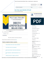 Direito Administrativo Brasileiro Hely Lopes Meirelles 2016.PDF - E-Books - Geraldo.download - Minhateca.com