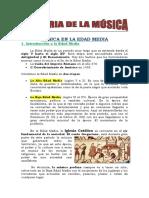 Historia de La Musica Edad Media