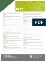 Print Glossary