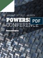 POWERSKIN CONFERENCE - PROCEEDINGS
