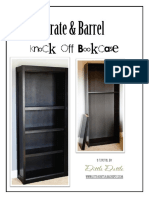 Crate Barrel Knock Off Bookcase