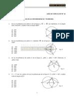 31 Ejercicios de ángulos en la circunferencia y teoremas.pdf