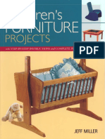 Children's Furniture Projects With Step-By-Step Instructions and Complete Plans - Jeff Miller