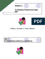 Presentacion Modulo 2 Presentacion de Estados Financieros Bajo Normas IFRS ALUMNOS